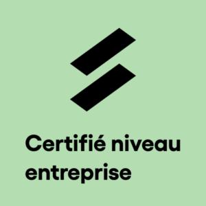 Certification niveau entreprise compétences SuccessFinder